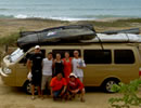 Surf tours in Ecuador